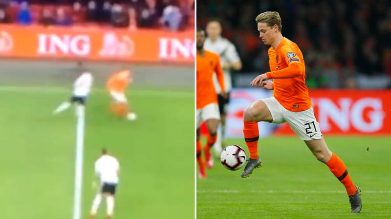 Frenkie de Jong Sent Toni Kroos Spinning Back To Madrid With Outrageous Turn