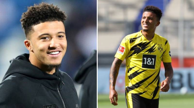 Jadon Sancho's Dream 5-A-Side Team Doesn't Include Lionel Messi Or Cristiano Ronaldo