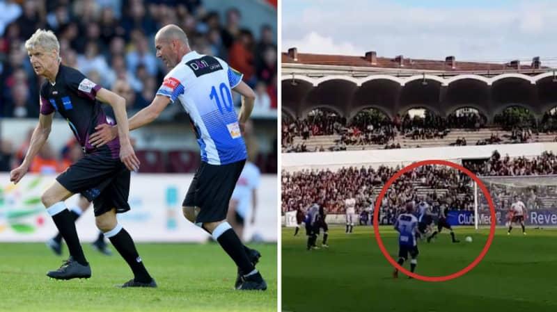When Arsene Wenger Took On Zinedine Zidane In A Charity Match