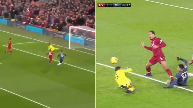 Virgil van Dijk's Reaction To Alisson's Mistake Has Emerged And It's Class