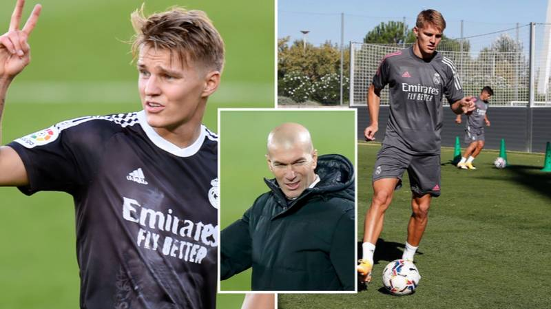 Martin Odegaard Hands In Transfer Request At Real Madrid
