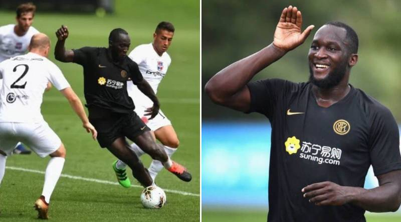Romelu Lukaku Scores Four In First Game For Inter Milan After £74m Move From Man Utd