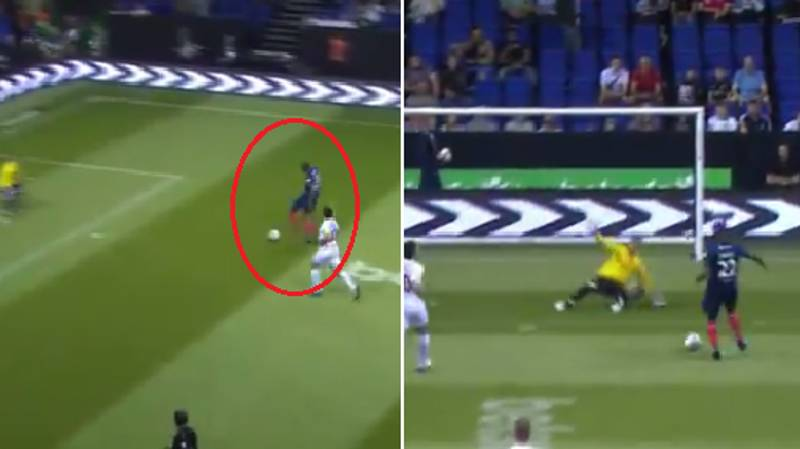 WATCH: Eric Abidal Sends Goalkeeper Into Next Week With Deft Faint