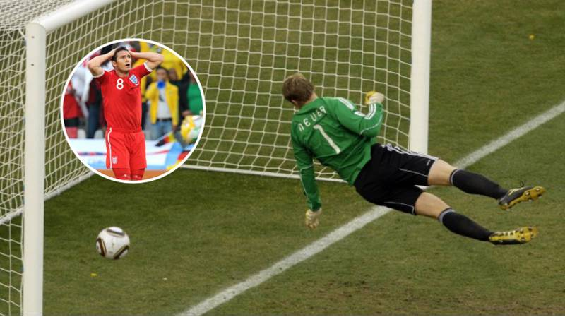 Nine Years Ago Today, Frank Lampard Had His Goal Ruled Out Against Germany In The World Cup