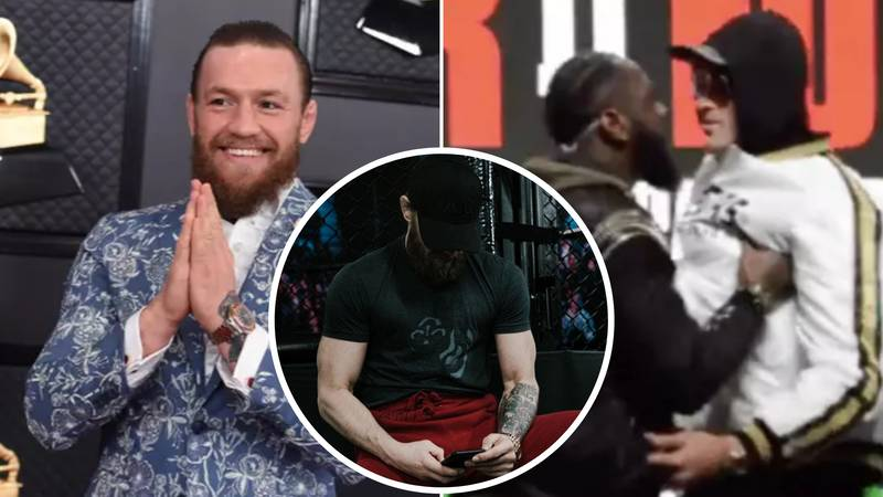 Conor McGregor Reacts To Tyson Fury And Deontay Wilder Face-Off Ban