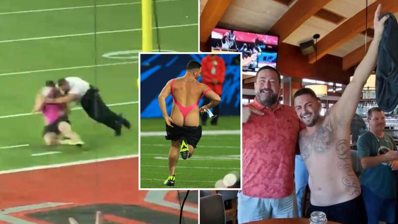 Super Bowl Mankini Streaker 'Won $374,000 From Betting On Himself'