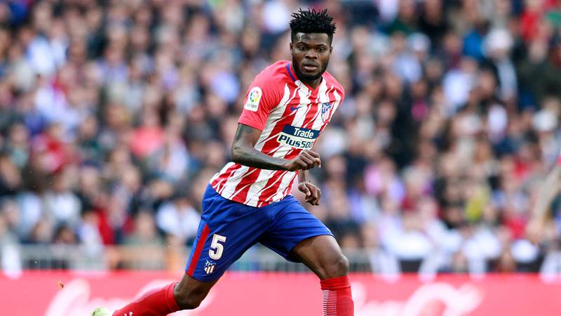 Atletico Madrid 'Upset' Over Thomas Partey's Move To Arsenal