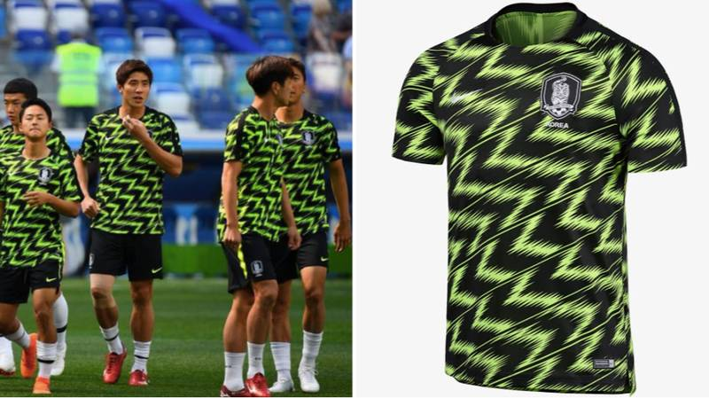 South Korea's Pre-Match Jersey Deserves A Lot More Appreciation