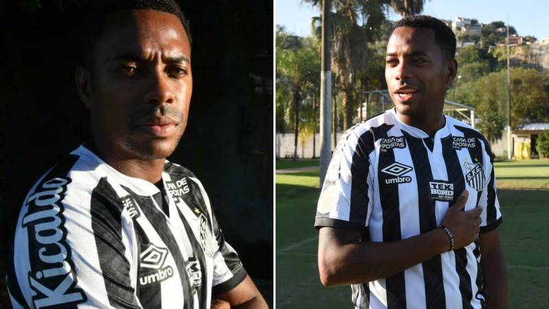 Santos Sponsor Terminates Deal With Club Over Robinho Signing 'In Respect To Women Who Use Our Product'