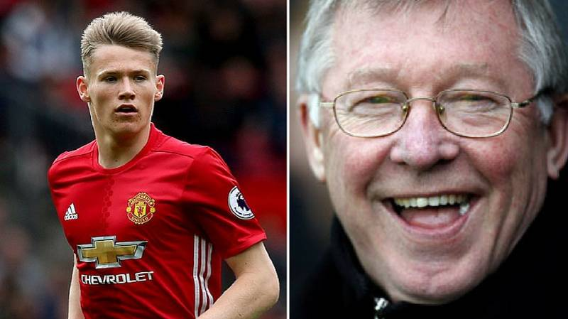 Scott McTominay Says Sir Alex Ferguson Helped Him Make His Choice At International Level