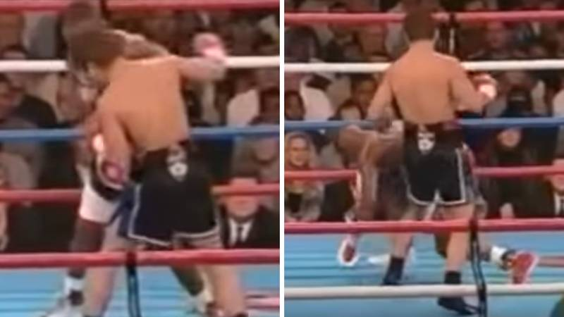 The Only Time Floyd Mayweather Was Knocked Down In His Entire Career