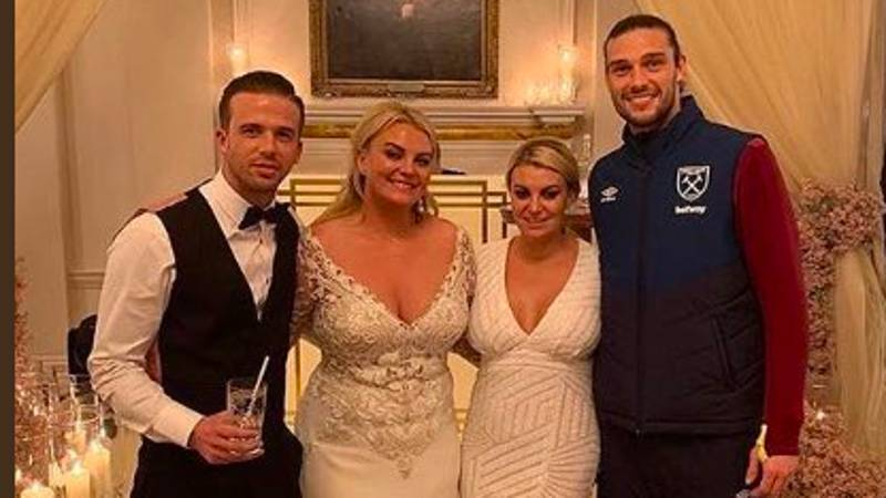 Andy Carroll Went To A Wedding In His West Ham Tracksuit
