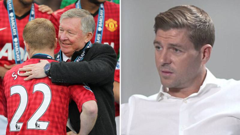 Steven Gerrard's Response To Sir Alex Ferguson Saying He Wasn't 'A Top, Top Player'