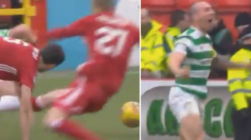Scott Brown's Reaction To Shocking Tackle Is The Most Scott Brown Thing Ever