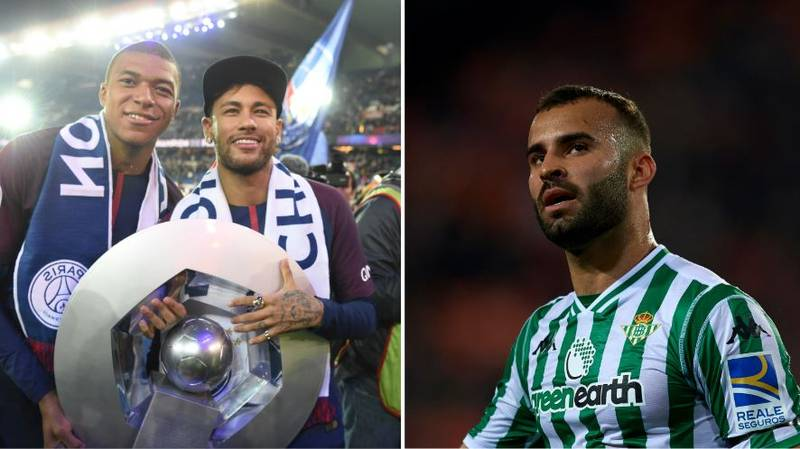 Jese Rodriguez Has Been Given A Ligue 1 Medal After Playing Just One Minute