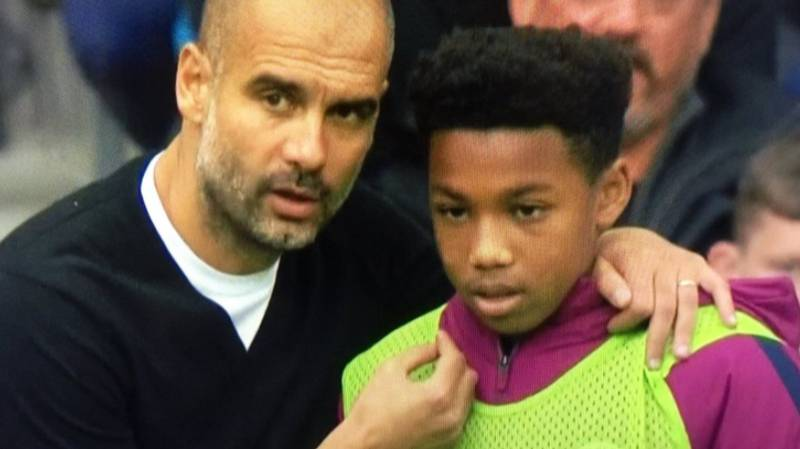 WATCH: The Brilliant Moment Pep Guardiola Gave Instructions To Ball Boy