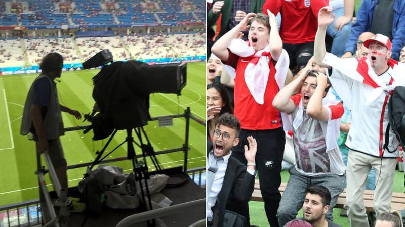 England Fan Travels 10,000 Miles, Spends £170 On A Ticket, For This View Of The Game