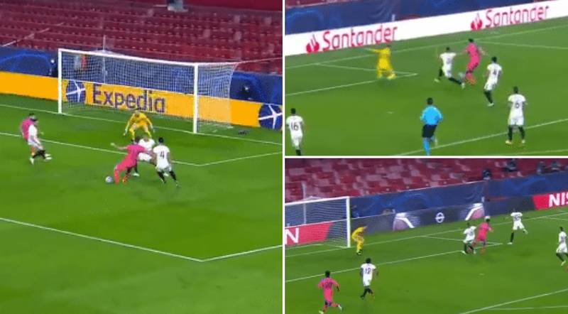 Watch: Olivier Giroud Scores Four Goals Including Perfect Hat-Trick