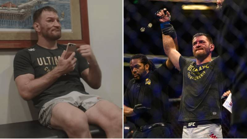 Stipe Miocic Finds Out His Father Is Cancer-Free Moments After Winning Back UFC Title