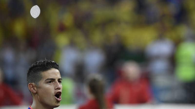 James Rodriguez Shines As Colombia Smash Poland