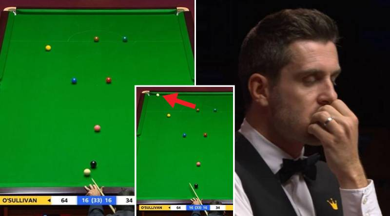 The Incredible Ronnie O'Sullivan Shot That Won Him The Semi-Final Decider Against Mark Selby