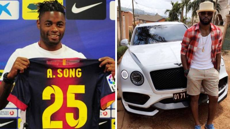 Alex Song Admits He Left Arsenal For Barcelona For Money