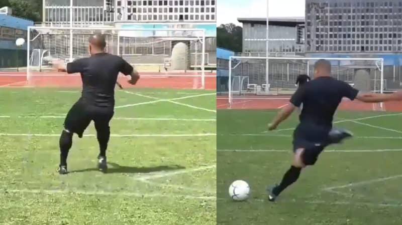 Roberto Carlos Is Still An Absolute Boss At Taking Free-Kicks