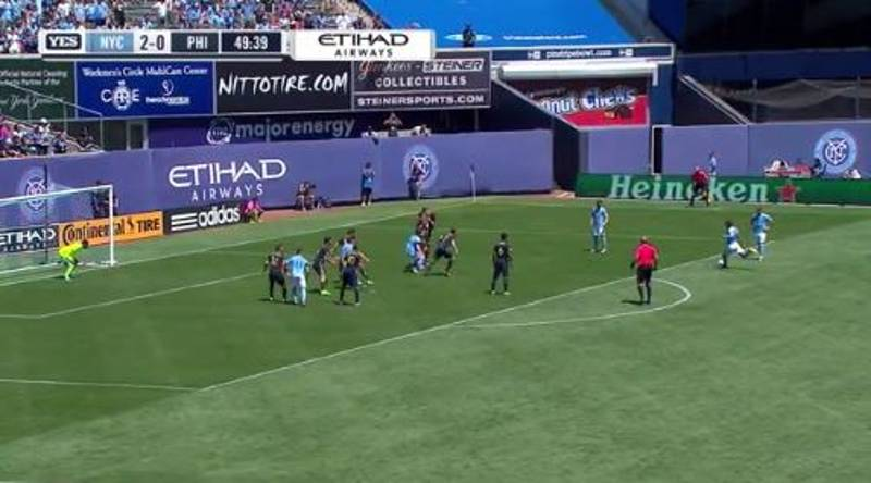 WATCH: Andrea Pirlo Scores His First MLS Goal