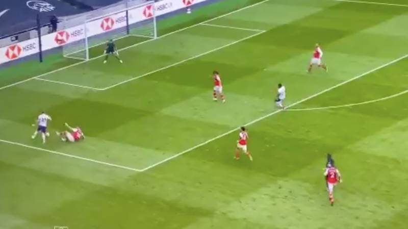 Shkodran Mustafi Produced The Worst Slide Tackle Ever Today