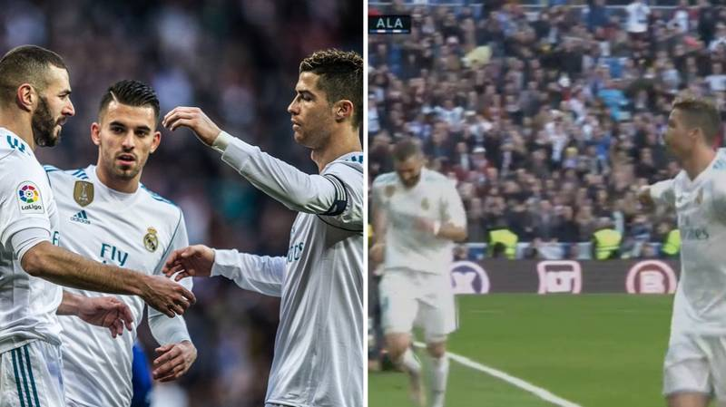 Everybody Is Talking About What Cristiano Ronaldo Did For Karim Benzema Against Alaves