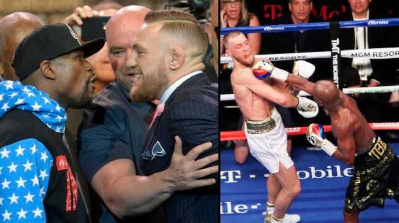 McGregor Has Officially Challenged Mayweather To A Rematch Under Different Conditions