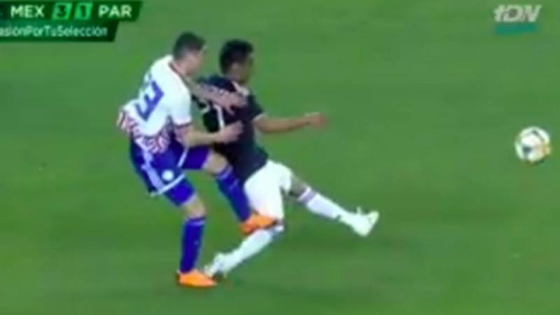 Newcastle United Record Signing Miguel Almiron Sent Off For Paraguay After Shocking Challenge