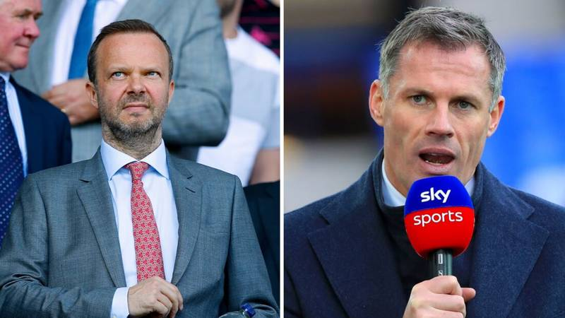 "Jamie Carragher Lays Into Ed Woodward For ""Acting Like A Superfan"" And Says Glazers Don't Care About Man Utd"