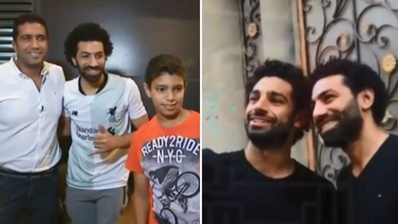 Mo Salah Has His Own Lookalike Back In Egypt And He's A Spitting Image