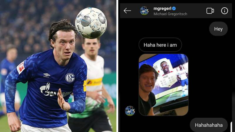 FIFA Gamer Randomly Messages Opponent And It Ends Up Being Schalke Midfielder Michael Gregoritsch