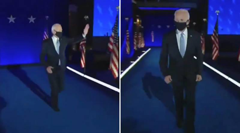 Joe Biden Running Out To Victory Speech Gets Turned Into Hilarious WWE Meme