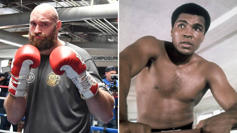 Boxing Forum Post Asked Who Would Win Out Of Tyson Fury And Muhammad Ali
