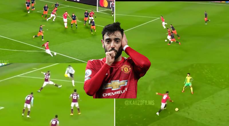 Bruno Fernandes' First Year Highlights At Manchester United Are Absolutely Incredible