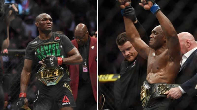 Kamaru Usman Defeats Jorge Masvidal At UFC 251