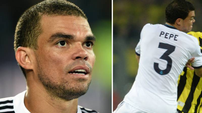 Real Madrid Officially Hand Over Pepe's Number Three Shirt