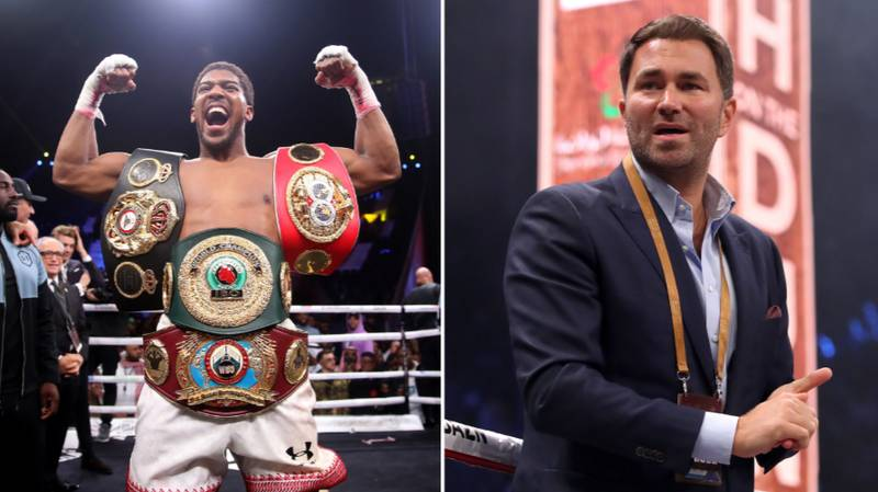 Anthony Joshua Set To Defend World Titles Against Mandatory Challenger In April