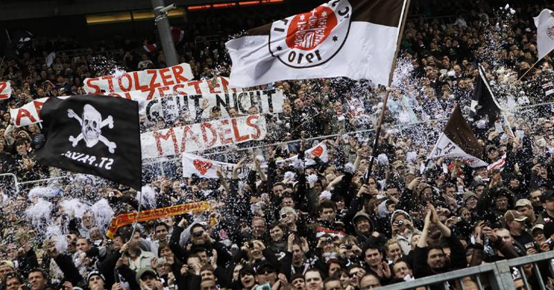 The New Players Tunnel At St. Pauli's Stadium Is Amazing