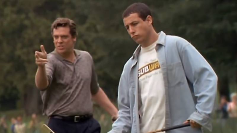 Adam Sandler And Chris McDonald Are Extremely Keen To Do A 'Happy Gilmore' Sequel