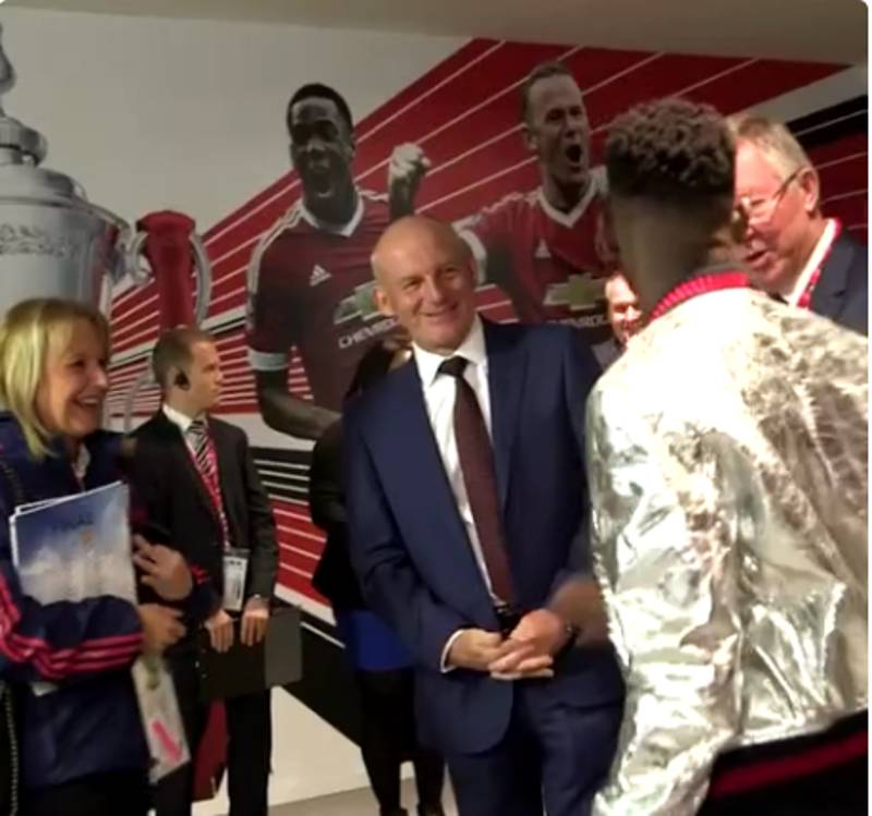 WATCH: Sir Alex Ferguson Takes The Piss Out Of Tinie Tempah Before FA Cup Final