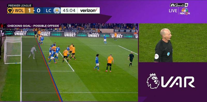 VAR Controversially Rules Out Wolves' Opening Goal Vs Leicester City