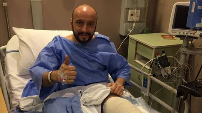 Ferrari Mechanic Posts Photo At Hospital After Sickening Kimi Raikkonen Accident