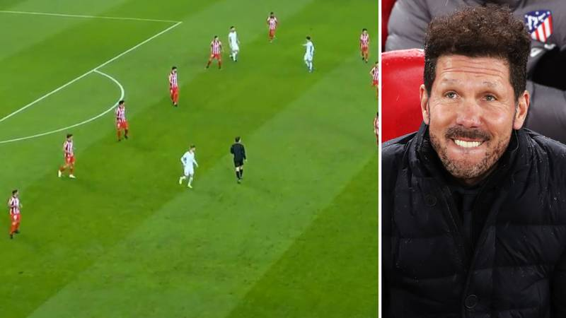 Atletico Madrid Played A '6-3-1 Formation' Against Chelsea In Champions League And Still Managed To Lose