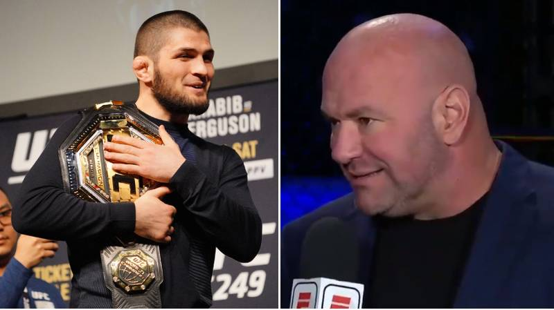 UFC President Dana White Makes Announcement On Khabib's Retirement