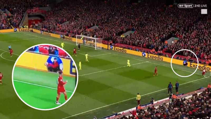 Liverpool Ball Boy Was The Unsung Hero Of Incredible Comeback Against Barcelona
