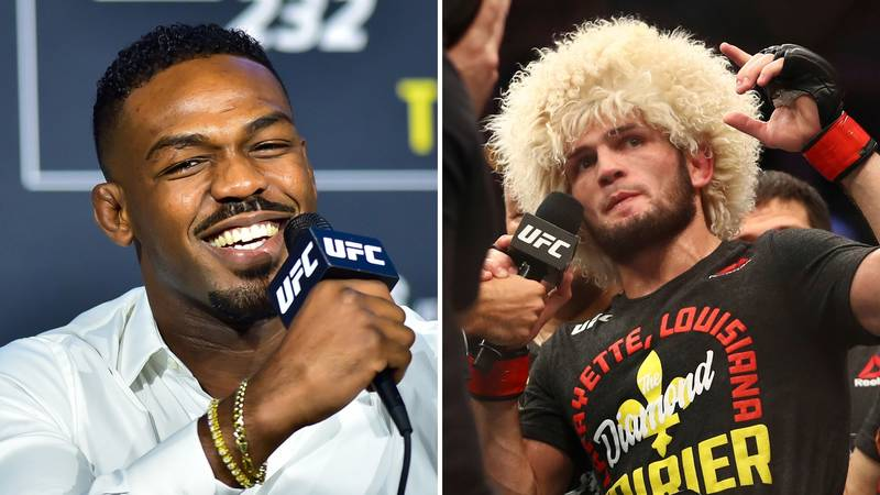 Jon Jones Holds Off Khabib Nurmagomedov At The Top Of UFC's Pound-For-Pound Rankings